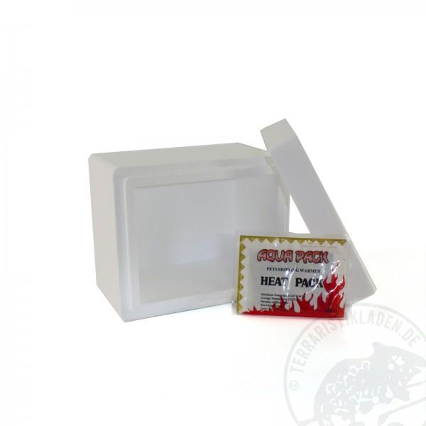 Winterverpackung Styropor- Box