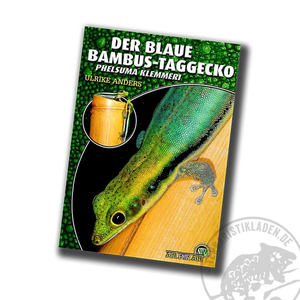 Der Blaue Bambus-Taggecko Phelsuma klemmeri
