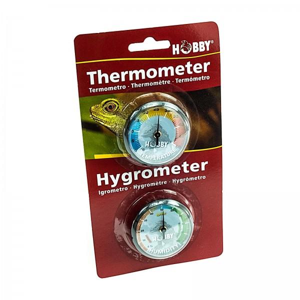 Hobby Thermometer Hygrometer Set