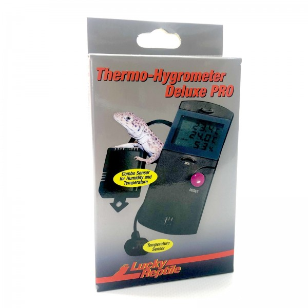 Lucky Reptile Thermometer - Hygrometer Deluxe Pro