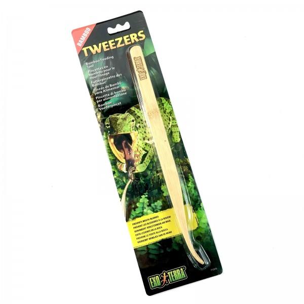 Exo Terra Bamboo Tweezers Bambus Futterpinzette